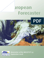 Euroforecaster  2017 Newsletter