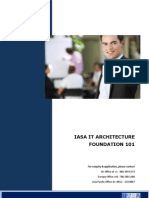 IASA IT Architecture Foundation 101v1