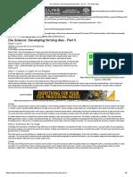 Die Science_ Developing Forming Dies - Part II - The Fabricator