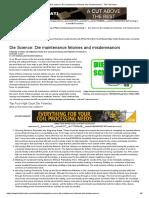 Die Science_ Die Maintenance Felonies and Misdemeanors - The Fabricator