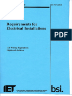 2018 Full Book IET Wiring Regulations