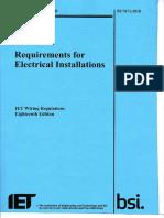 2018 Full Book IET Wiring Regulations