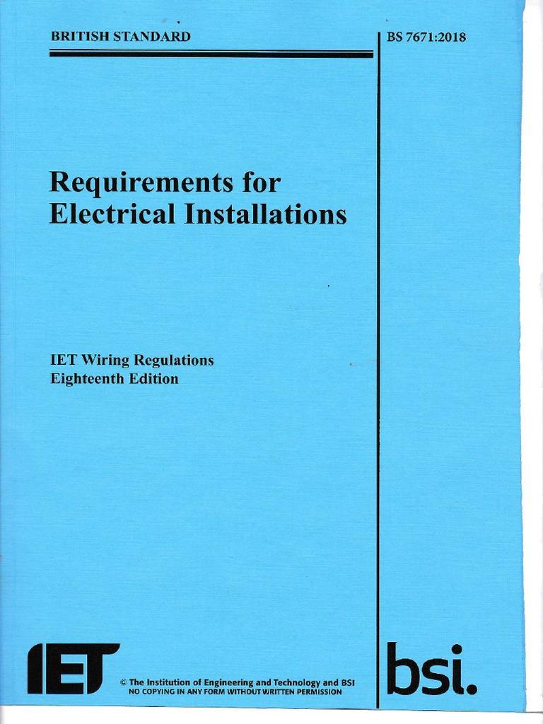 cdd3109b91cb 2018 Full Book IET Wiring Regulations