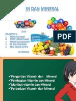 Vitamin Dan Mineral Ppt