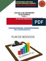 Clase 1. Plan de Negocios