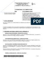 Acta Comité Competición n1