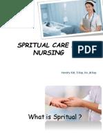 Kesehatan Spiritual Secara Psikososial Dalam Praktik Keperawatan