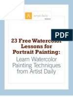 Watercolor Portrait eBook[1] 23 Lessons