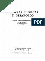 Finanzas Públicas y Desarrollo