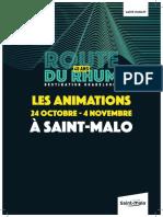 Les animations à Saint-Malo