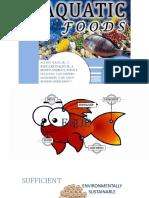 Aquatic Foods