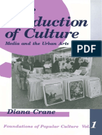 The Production of Culture Media and the Urban Arts