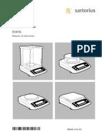 Manual Entris WEN6001-s