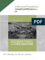 Books-In-brief the Socio-Intellectual Foundations of Malik Bennabis Approch to Civilization