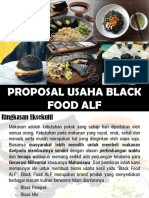 proposal usaha black food