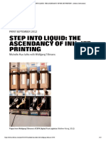 Step Into Liquid_ the Ascendancy of Ink-jet Printing - Artforum International