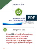 Jenis Data Buat Rujukan