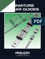 Linear Miniature Guide
