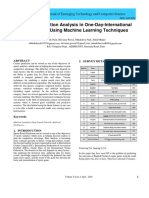 Winning Prediction Analysis in One-Day-International (ODI) Cricket Using Machine Learning Techniques