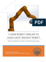 7-Dom Robot Similar to Kuka Light Weight Robot