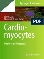 (Methods in Molecular Biology 1299) Gary R. Skuse, Maureen C. Ferran (Eds.)-Cardiomyocytes_ Methods and Protocols-Humana Press (2015)