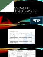 CLASIFICACION ASSTHO