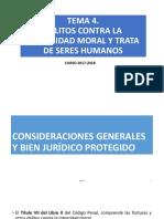 Tema 4. Delitos Contra La Integridad Moral y Trata de Seres Humanos