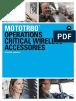Mototrbo Wireless Accessory Catalog