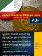 Sejarah Pemikiran Ekonomi Islam-1