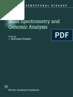 Mass Spectrometry and Genomic Analysis Part 1