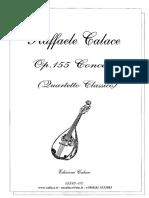 15510-Concerto Per Quartetto e Chit.(Quart.class.)