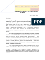 As Entidades 'Brasileiras' Da Umbanda e as Faces Inconfessas Do Brasil