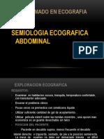 Eco Semio y Vesicula e Higado