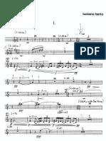BERIO Sinfonia H12 Saxo Alto