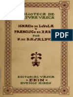 Ignacio de Loyola y Francisco de Xabier