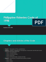 Philippine Fisheries Code