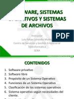 Presentacion05 - Software Sistemas Operativos y Sistemas de Archivos