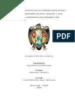 Informe de Geología Practica 1 Río Huatatas