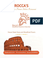 ROCCAS Italian Restaurant Blackburn | Pizza and Pasta Delivery, Fine Dining in Blackburn