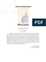 Saint-Exupery - Micul print.doc