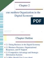 The Modern Organization in the Digital Economy