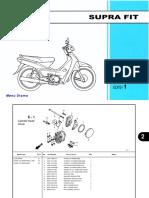 Katalog Suku Cadang Honda Supra FIT