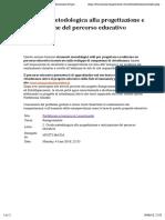 2. Guida Metodologica Alla Progettazione e Realizzazione Del Percorso Educativo