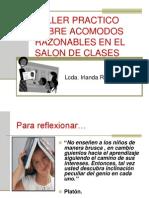 Lcda. I Ruiz-Acomodos Razonables en El Salon de Clases