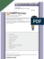 Apache Friends - Xampp for Linux