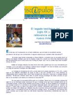 El Legado Teológico Del Siglo XX. 06 Di...Ulos,