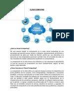 Cloud Computing Tarea