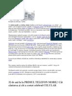 Despre de Telefoane Mobile