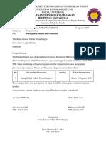 183 Surat Peminjaman Sarana Dan Prasarana Rakor