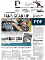 A1 Eagles fans cover - Feb. 2, 2018 -- LNP Lancaster Newspapers